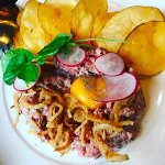The best steak tartare!