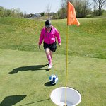 FootGolf is the combination of soccer & golf, it is fun for all ages @ our Strategic Fox Course