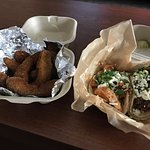 Tacos were so fresh, Fried Avocado was something totally different