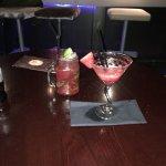 Strawberry Daquari and Raspberry Mojito