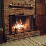 The Bristol room fireplace, site of the founding of Appalachian State University in 1903.