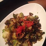 Amazing roasted brussels sprouts