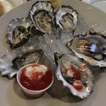 Such a great variety of tasty oysters and great service. Hint they have run out of oysters befor