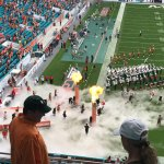 University of Miami takes the field
