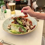 Chicken salad fresh and tasty