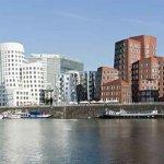 Gehry Bauten am Düsseldorfer Medienhafen (Quelle: Hilker Consulting)
