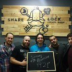 Share Lock Escape Room