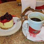 Cheese cake con café, la combinación ideal
