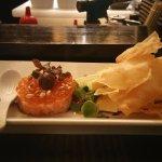 Ahi tuna w/ salmon roe