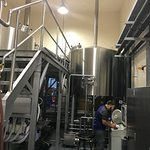 The 30-barrel brewhouse