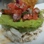Fresh Crab Salad, Avocado Mousse, Fresh Tomato Salsa