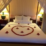 Nice honeymoon touch