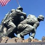 U.S. Marine Corps War Memorial Foto