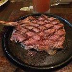 A hearty 20 oz Rib Steak