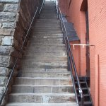Exorcist movie stairs nearby