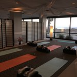 Oceanview Ballroom 2nd section used for yoga session