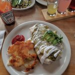 The Verde Breakfast Burrito