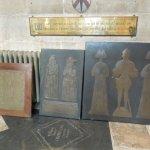 brass tombstones?