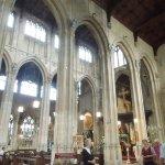 interior shot of church