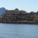 La Mision Hotel from the water