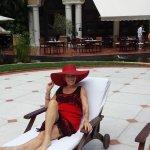 Maryanne by pool