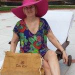 Pam at pool