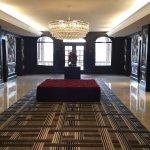 elevator lobbies are even fancy