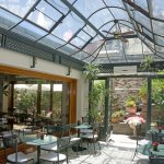Wonderful greenhouse like breakfast room