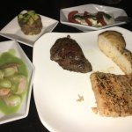 dinner time food at club 91