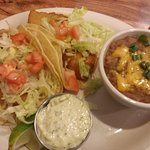 Tacos with a soup of the day