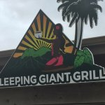 Sleeping Giant Grill Sign