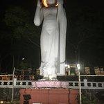 Budha Statue on the upper deck