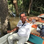 Our guide, Luis M, took us birding twice a day, by boat and on jungle paths.