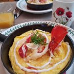 Delicious Lobster Frittata
