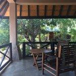Jungle Chalet veranda
