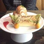 Butter Cake with Vanilla ice cream