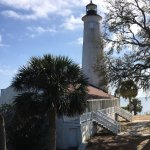 St. Marks Lighthouse and keepers quarters
