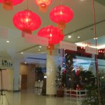 Lobby decoration for CNY