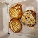 Down Under Kobe beef burger and regular fries