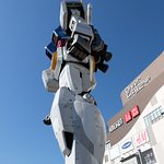 Gundam statue; Divercity