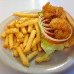 Po-boy & fries