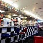 True diner setting