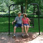 In 1985 my husband proposed to me on this swing.