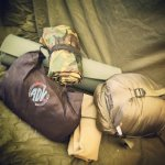 Packing for an all inclusive bushcraft overnight camp near Windermere in the Lake District