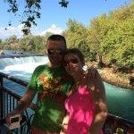 Manavgat Waterfall and River Foto