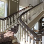 Majestic staircase with beautiful views of the gulf
