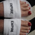 Pedi at the Empire Spa