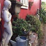 Loads of Italian Villa-like statuary