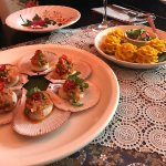 Scallops & fish dumplings