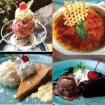 Delicious Dessert selection.